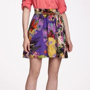 Anthropologie (Maeve) Silk Skirt